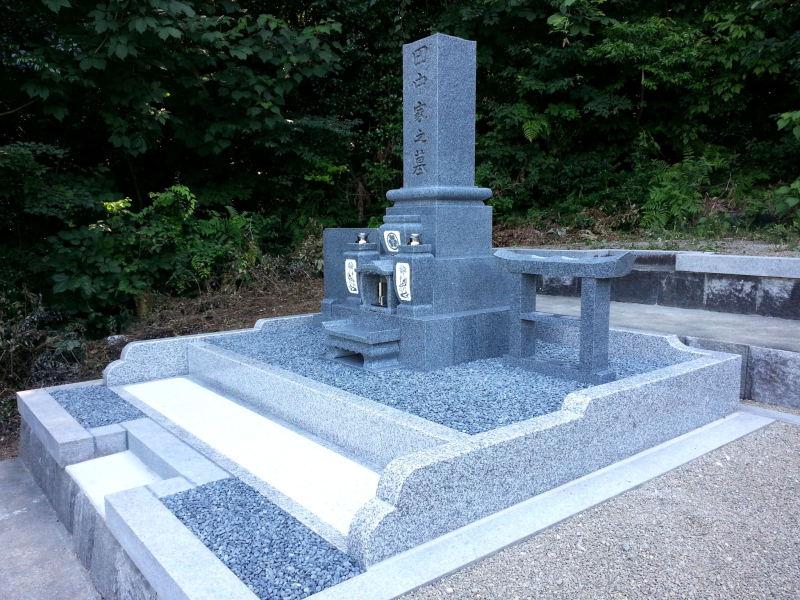 岐阜県恵那市 デザイン墓石