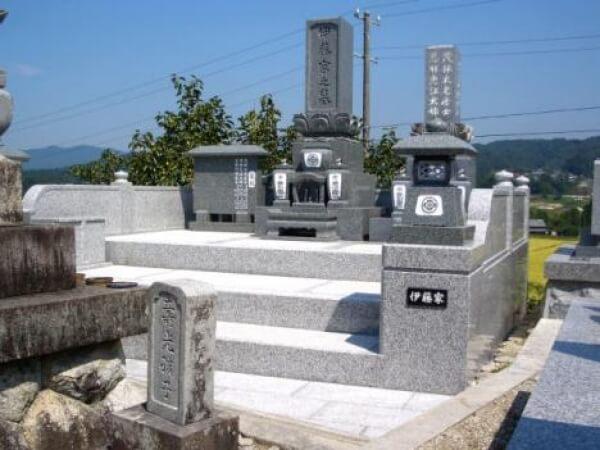 岐阜県中津川市新規墓石工事 伊藤様_メイン画像