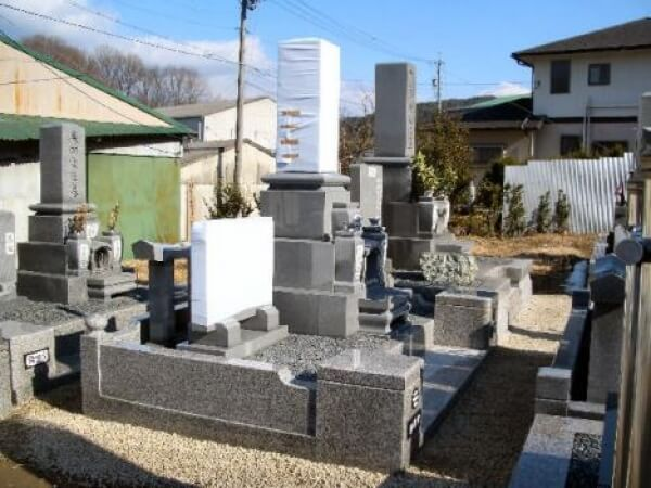 岐阜県恵那市新規墓石工事 西尾様_メイン画像