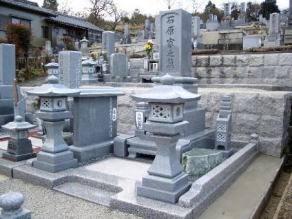 岐阜県恵那市新規墓石工事 石原様_メイン画像