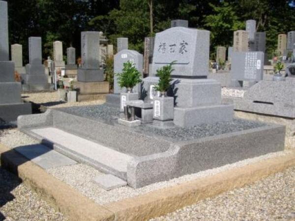 岐阜県中津川市デザイン墓石 福田様_メイン画像