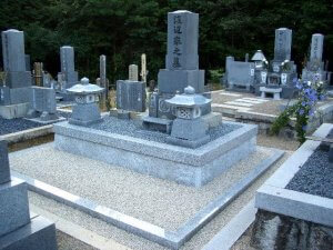 岐阜県恵那市墓石リフォーム工事 渡辺様_施工後