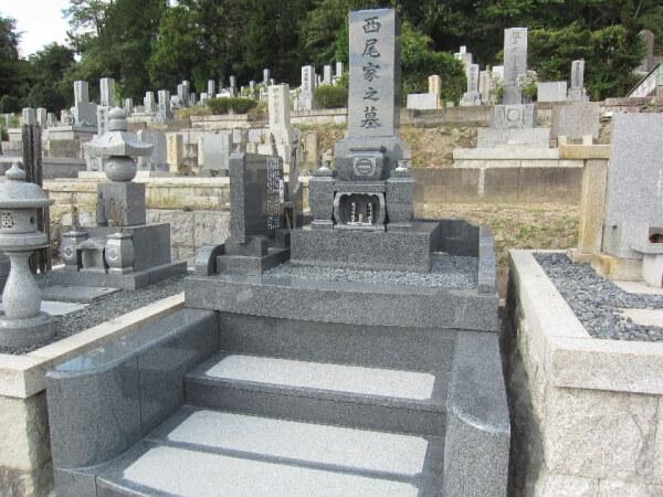 岐阜県恵那市墓石リフォーム 西尾様