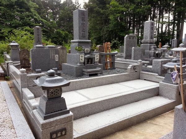 岐阜県恵那市墓石工事 後藤様_メイン画像