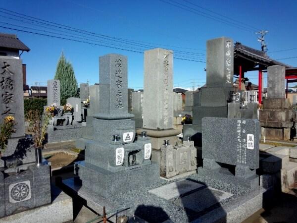 岐阜県各務原墓石工事 渡辺様_メイン画像
