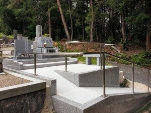 岐阜県恵那市デザイン墓石 渡辺様_サンプル画像01