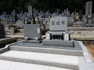 岐阜県恵那市デザイン墓石 渡辺様_サンプル画像02