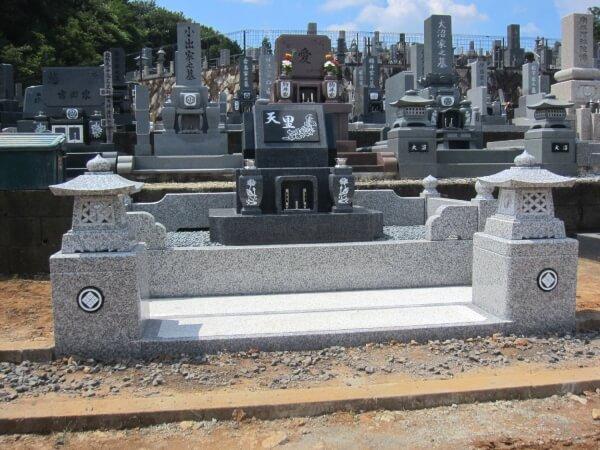 岐阜県多治見市デザイン墓石 枦山様
