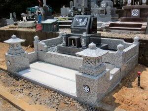 岐阜県多治見市デザイン墓石 枦山様_サンプル画像01
